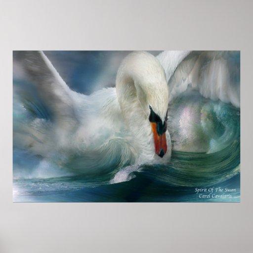 Spirit Of The Swan Art Poster/Print