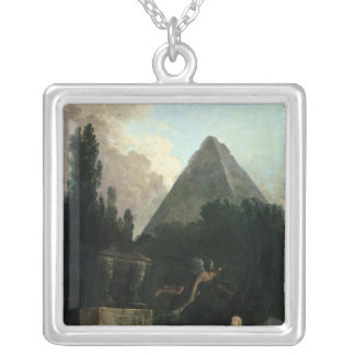 Spirit of the Tomb Silver Plated Necklace