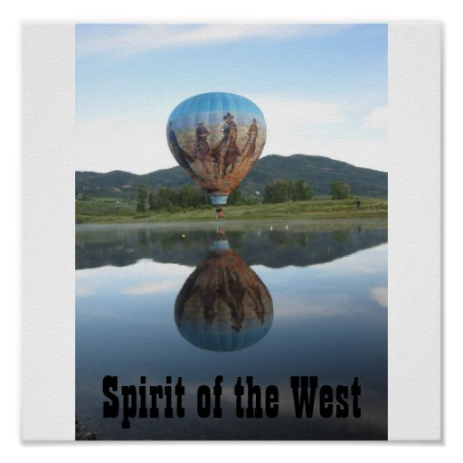 Spirit of the West Poster