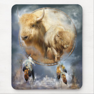 Spirit Of The White Buffalo Art Mousepad