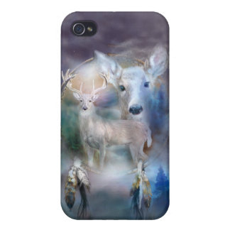 Spirit Of The White Deer Art Case for iPhone 4