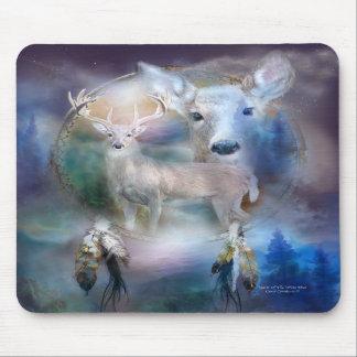 Spirit Of The White Deer Mousepad