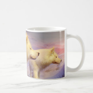 Spirit Of The White Wolf Mug