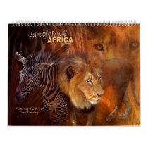 Spirit Of The Wild - Africa Art Calendar