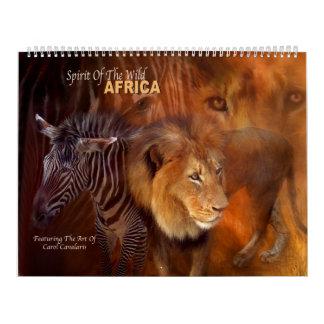 Spirit Of The Wild - Africa Art Calendar 2016