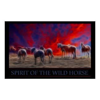 Spirit of the Wild Horse Posters