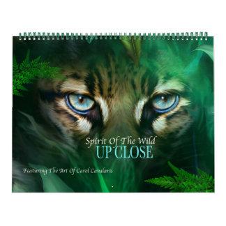 Spirit Of The Wild - Up Close Art Calendar
