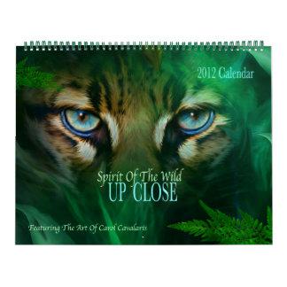 Spirit Of The Wild - Up Close Calendar 2012