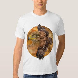 Spirit Of The Wind - Eagle Art T-Shirt