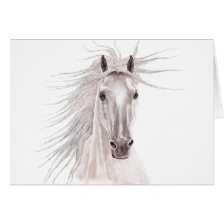 Spirit of the Wind Horse -card- Greeting Card