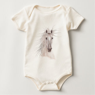 Spirit of the Wind Horse -vintage- Baby Bodysuit