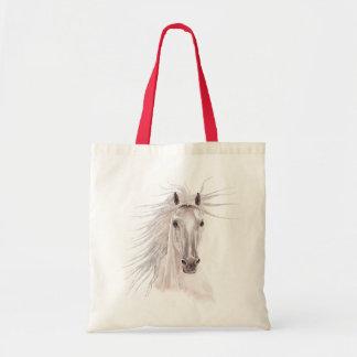 Spirit of the Wind Horse -vintage- Budget Tote Bag