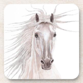 Spirit of the Wind Horse -vintage- Beverage Coasters