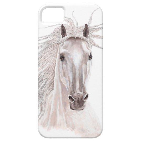 Spirit of the Wind Horse -vintage- iPhone SE/5/5s Case