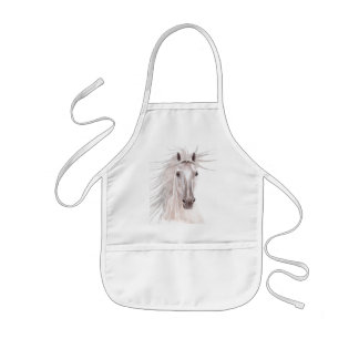 Spirit of the Wind Horse -vintage- Kids' Apron