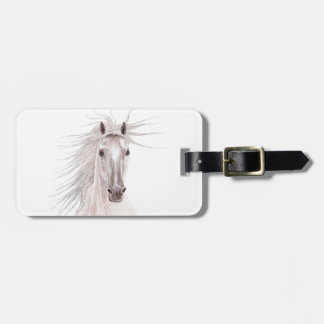 Spirit of the Wind Horse -vintage- Luggage Tag