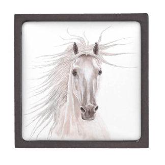 Spirit of the Wind Horse -vintage- Premium Jewelry Box