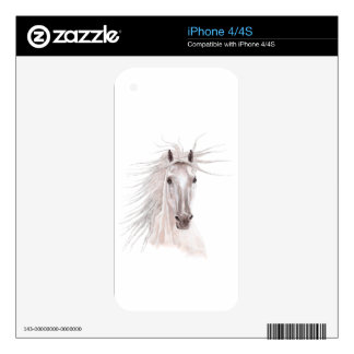 Spirit of the Wind Horse -vintage- Skins For iPhone 4S