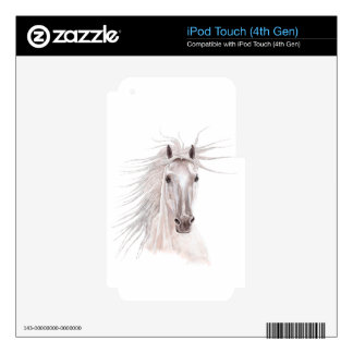 Spirit of the Wind Horse -vintage- Skins For iPod Touch 4G