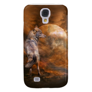 Spirit Of The Wolf Art Case for iPhone 3 Galaxy S4 Cover