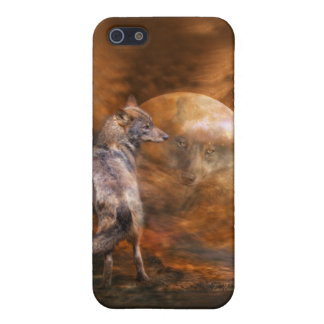 Spirit Of The Wolf Art Case for iPhone 4