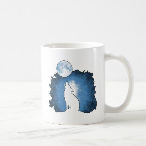 Spirit of the Wolf Classic White Coffee Mug