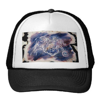 Spirit of the wolf mesh hats
