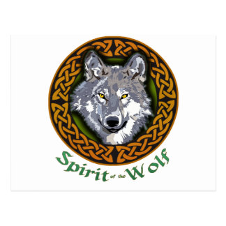 Spirit of the Wolf Postcard