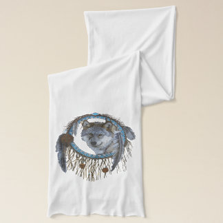 Spirit of the Wolf Scarf