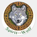 Spirit of the Wolf Sticker