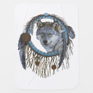 Spirit of the Wolf Swaddle Blanket