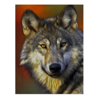 Spirit of the Wolf - Therian wolf photo gifts Postcard