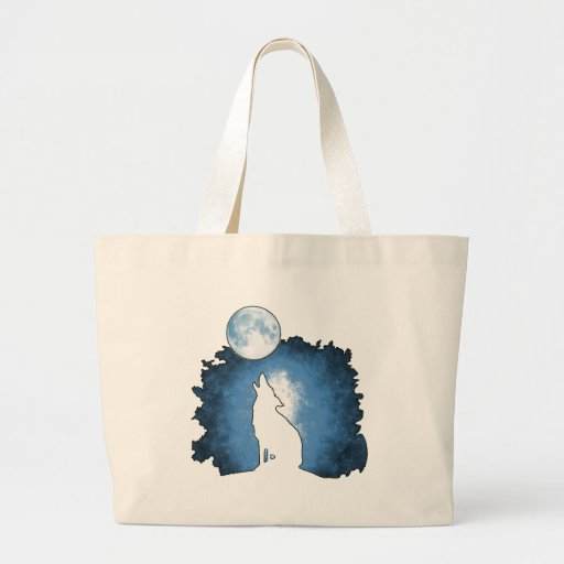 Spirit of the Wolf Tote Bags