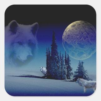 Spirit Of The Woods Square Sticker