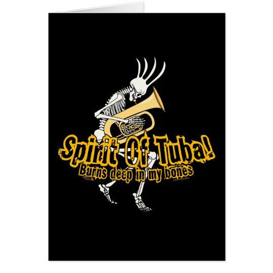 Spirit Of Tuba! Card