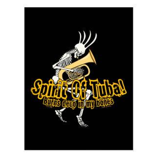 Spirit Of Tuba! Postcard