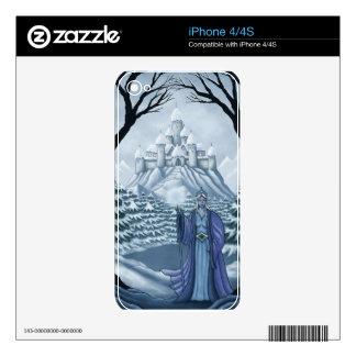 spirit of winter iPhone skin iPhone 4S Skins