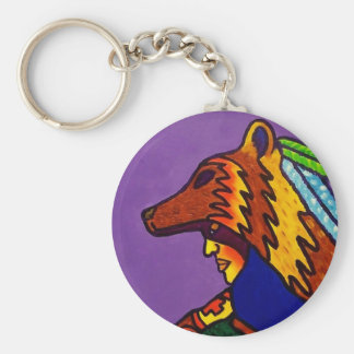 Spirit of Wolf 3 by Piliero Key Chains