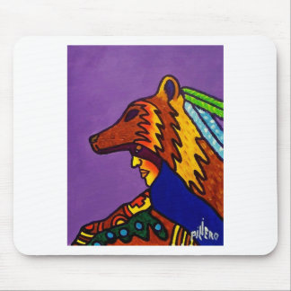 Spirit of Wolf 3 by Piliero Mouse Pad