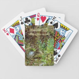 Spirit Orb on Haunted Unalaska Island Bicycle Playing Cards