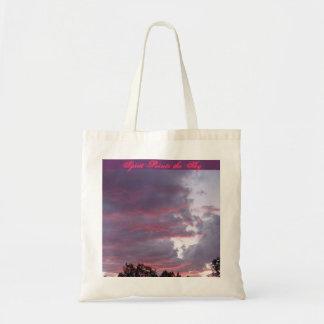 Spirit Paints the Sky Tote Canvas Bag