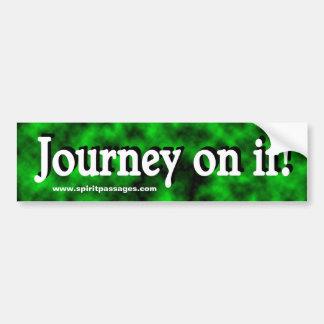 Spirit Passages Journey Bumper sticker