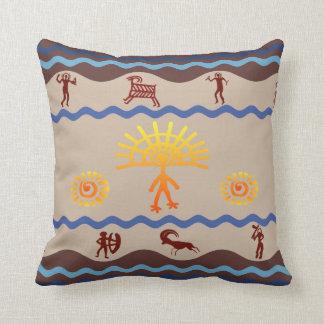 Spirit Path Rock Art Pillow