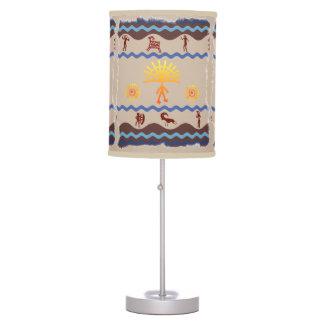 Spirit Path Rock Art Style Lamp