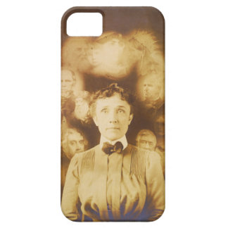 Spirit Photograph of Ghosts Surrounding a Woman iPhone SE/5/5s Case