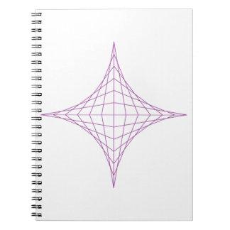 Spirit (purple) note books