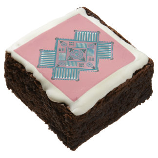 Spirit Quest Frosted Brownies 12 Square Brownie