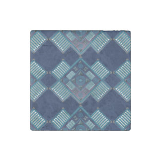 """Spirit Quest Stone Marble Magnets 2x2"""" Stone Magnet"""