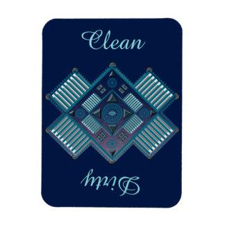 Spirit Quest Vinyl Flexi Magnet