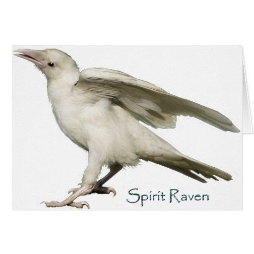 Spirit Raven II Series Greeting Cards